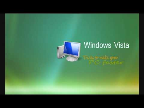 10 Tricks to make Windows Vista faster