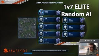 StarCraft 2: Terran 1 vs 7 ELITE Random AI (HARDEST ONE YET!)