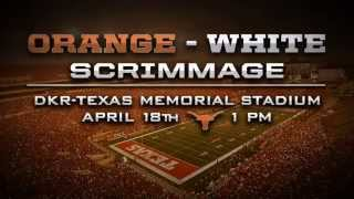 Texas Football Orange-White Scrimmage trailer [Feb. 23, 2015]