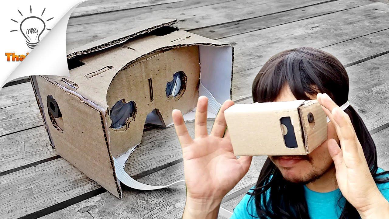 Очки виртуальной реальности своими руками для планшета 67