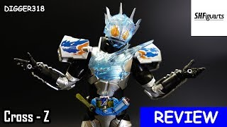 SH Figuarts Kamen Rider Cross Z Charge Toy Review 4K