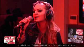 Alexandra Stan - Get Back - live@NRJ Radio (Paris, France)