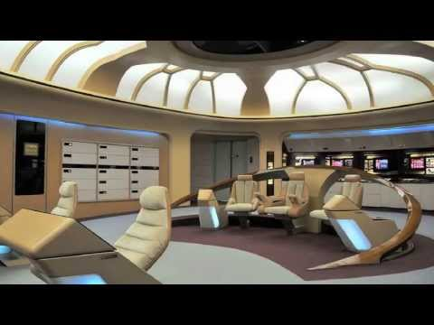 Star Trek TNG Bridge Restoration Called For In Kickstarter Campaign | Video