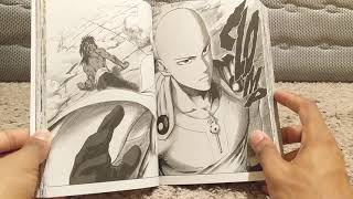 One punch man manga book 14 unboxing