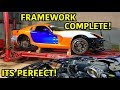 "Rebuilding A Wrecked 2014 Dodge Viper TA ""TIME ATTACK"" PART 1..."