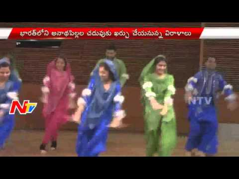 Fund Raising Event for Indian Orphan Students | ADZ Students Organization In US | USA News | NTV