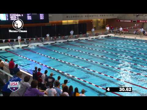 Women&#039;s 200m Backstroke A Final - 2012 Columbus Grand Prix