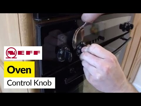 How to replace oven knobs on a Neff oven