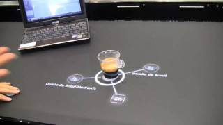 atrac multitouch table tells you about your Nespresso