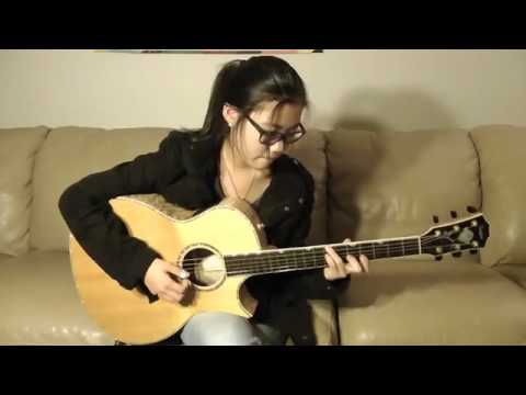 Eric Clapton   Tears In Heaven guitar   Sandra Bae