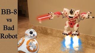 Robots Battle - BB-8 vs bad robot