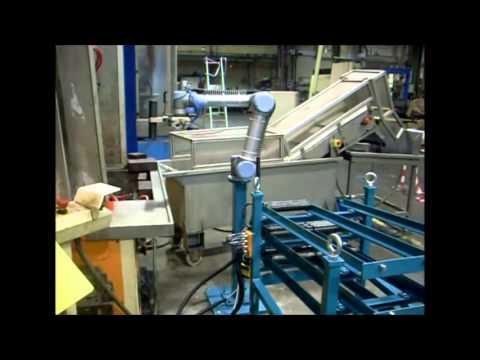 Robots Colaborativos Universal Robots. Tratamiento químico.