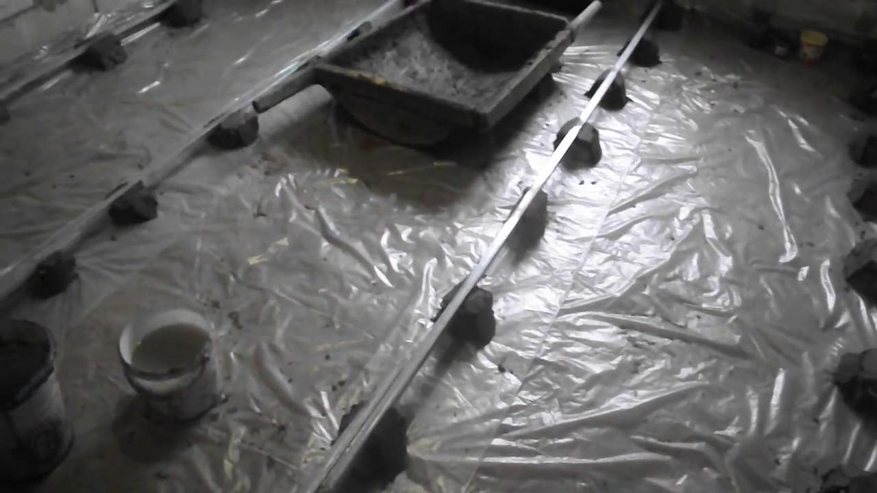 Как сделать идеально ровные бетонные полы