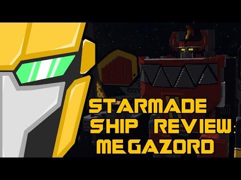 Starmade Ship Review: MEGAZORD by NITRON