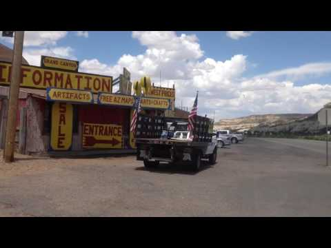 Chief Yellowhorse Native American Trading Post on Route 66 Arizona Navajo Land