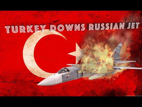 Turkey Shoots Down Russian SU-24 Fighter Jet - WW3 Is Here!