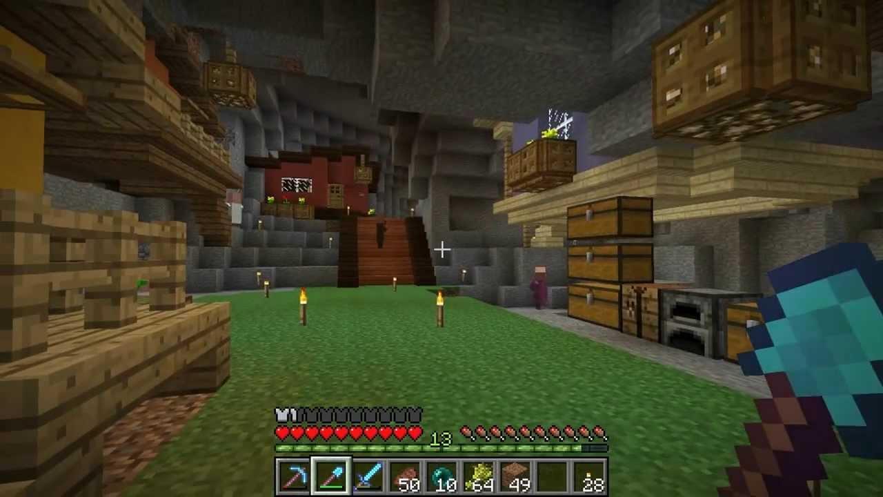 Minecraft Man Cave Ideas : Etho plays minecraft episode mine cart shuffle