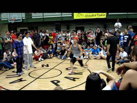Thesis & Flexum vs. Jose & Sergio - Bboy City 17