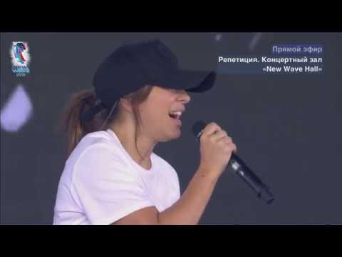 Ани Лорак на репетиции. Новая Волна   (04.09.2018)