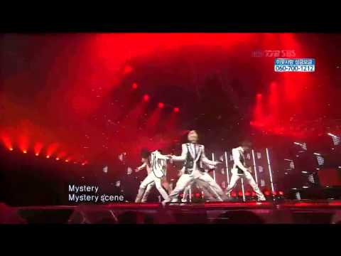 Beast (b2st) - Mystery (white Live) video