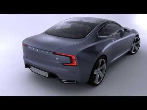 Volvo Concept Coupe, промо