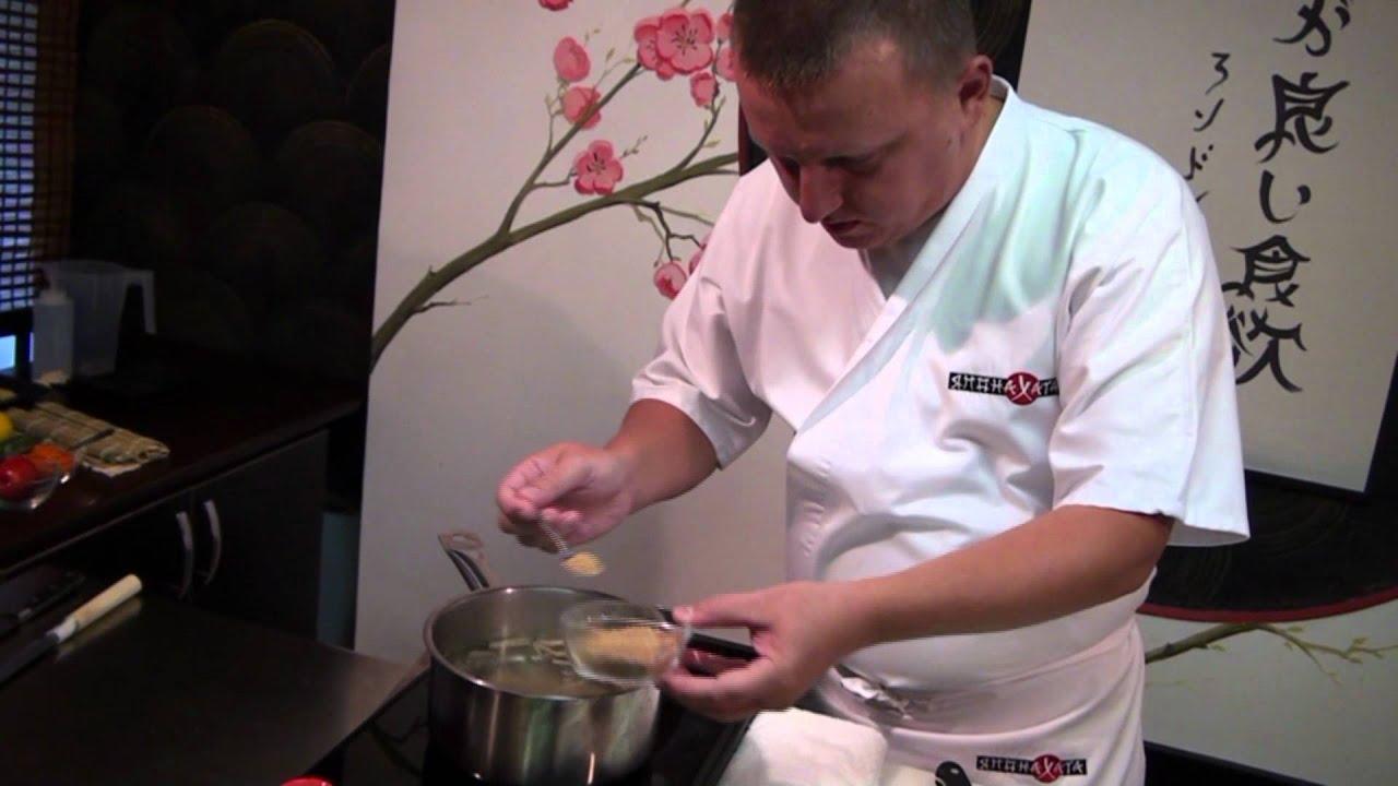 Рецепт суимоно суп