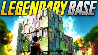 LEGENDARY BASE! (Fortnite Battle Royale)