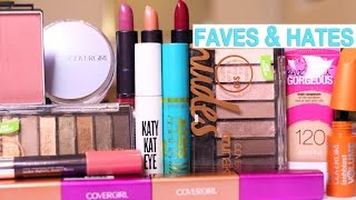 DRUGSTORE MAKEUP Favorites & Hate it