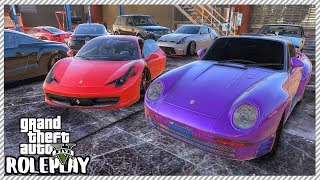 GTA 5 Roleplay - New Stock Buying at Redline Garage 'BIG' $1.2 Million Car Sale | RedlineRP #299