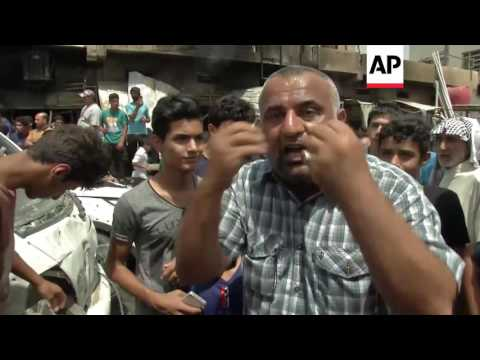 Baghdad  - Car bomb strikes Shiite neighbourhood | Editor's Pick | 11 May 16