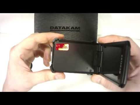 Datakam G9. Обзор видеорегистратора Datakam G9