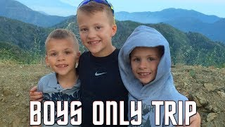 BOYS ONLY Camping Trip Fail!