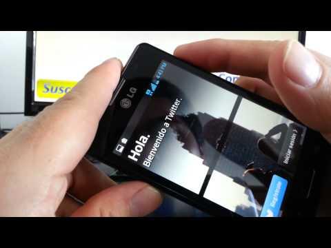 truco para capturar pantalla LG Optimus L4 L5 L3 comoconfigurar
