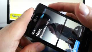 truco para capturar pantalla LG® Optimus L4 comoconfigurar