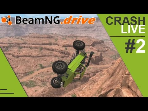 Crash Live #2 sur BeamNG.Drive ! [FR]