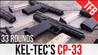Shooting Kel-Tec's New CP-33: 33 rounds of .22LR!