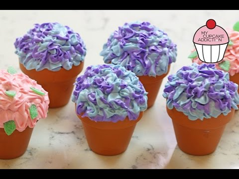 Flowerpot Cupcakes for Mothers Day w/ ANNEORSHINE | My Cupcake Addiction