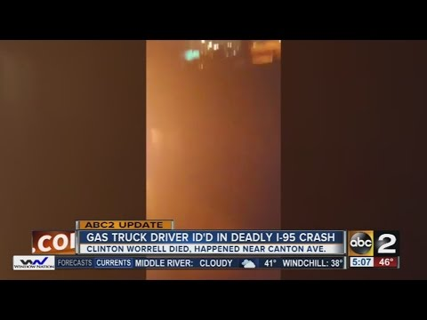 Tanker driver in deadly I-95 crash ID'd
