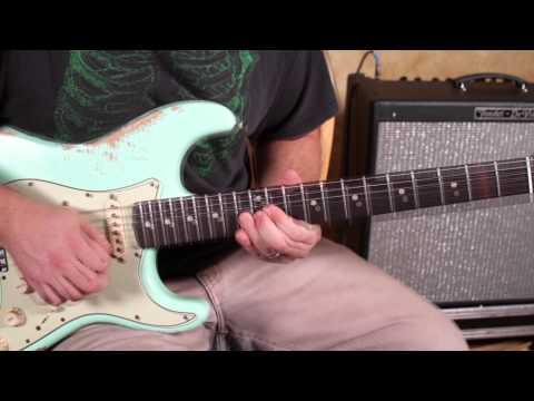 0 Jimi Hendrix Style Bending Lick   Blues Rock Guitar Lessons   Lead Guitar Soloing Lesson strat