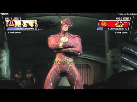 Injustice Gods Among Us - Sick Of Survival Online 1v1 Player Matches Gameplay