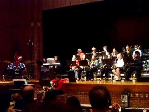 Blairsville High School Jazz Band - God Rest You Merry Gentleman.AVI