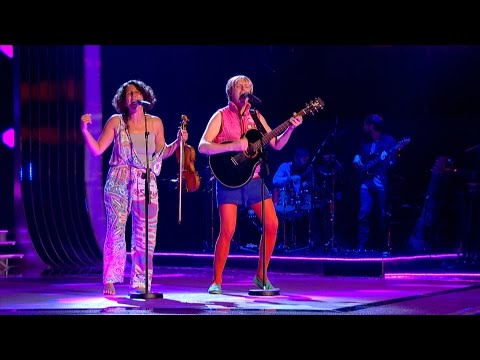 Billy Bottle & Martine perform 'The Power' - The Voice UK 2015: Blind Auditions 2 - BBC One