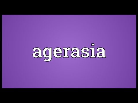 Header of Agerasia