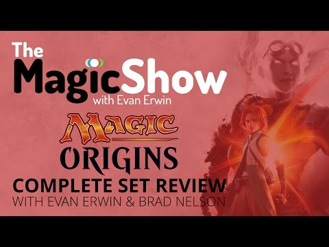 Magic Origins Complete Set Review - Red! [Magic the Gathering]