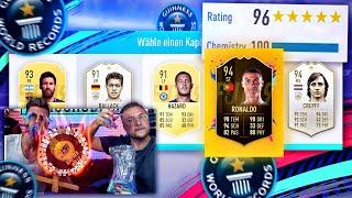 FIFA 18: 196 DRAFT WORLD RECORD oder RadDerHölle !!