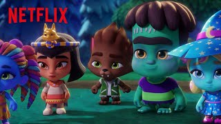 Drac's Super Special Friends | Super Monsters | Netflix