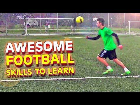 Learn 3 Amazing Football Soccer Skills Tutorial