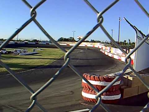 92 Pavement Modified takes on the Super Mods in the Heat race