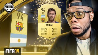 Messi in a Pack from Elite 1 FUT Champs Rewards! | FIFA 19 Ultimate Team