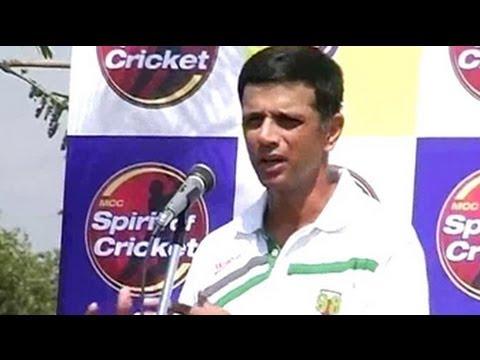 Rahul Dravid: Perfect captain, perfect mentor